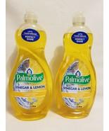 2- New~Ultra Palmolive Vinegar & Lemon Dish Soap 20 oz. Bottle Liquid Di... - $24.75