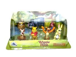 Winnie The Pooh de Disney 7 Figura Estatuilla Set Juego Cumpleaños Adorn... - $20.88
