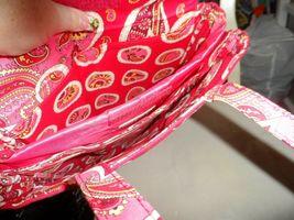 Vera Bradley laptop Travel Tote In Rosy Posies image 3