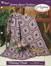 Needlecraft Shop Crochet Pattern 962380 Waltzing Violets Afghan Collecto... - $4.99