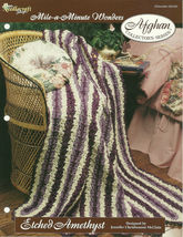 Needlecraft Shop Crochet Pattern 962390 Etched Amethyst Afghan Collector... - $4.99