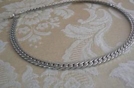 """Vintage Monet Silvertone 15 """" Chain Necklace - $18.79"""