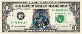 BATMAN on REAL Dollar Bill Cash Money DC Comic Collectible Memorabilia C... - $6.66