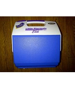Little Playmate Elite Igloo Blue Ice Box Lunch Cooler Chest 6.5 Liter 7 ... - $24.99