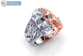 Incredible Men's or Ladies Skull Ring in 10 kt ... - $995.00