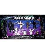 Star Wars 8 Character Bendems Set Darth Vader Luke Leia R2-D2 Ewok Etc. ... - $15.26