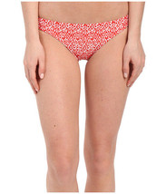 Shoshanna Women's Kilim Ikat Classic Bottoms Red/White Swimsuit Bottom S... - $24.00