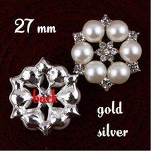 Bride Decoration Buttons ,10pcs Wedding Party Decorative Gift Favors  - $6.10