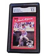 1990 Donruss Mark Mcgwire All-Star ERROR GMA Graded 8.5 NM-MT+ baseball ... - $14.99