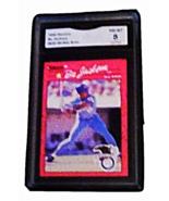 1990 Donruss BO Jackson All-Star ERROR GMA Graded 8 NM-MT baseball  Card... - $14.99