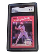 1990 Donruss Ozzie Smith All-Star ERROR GMA Graded 8.5 NM-MT+ baseball  ... - $14.99