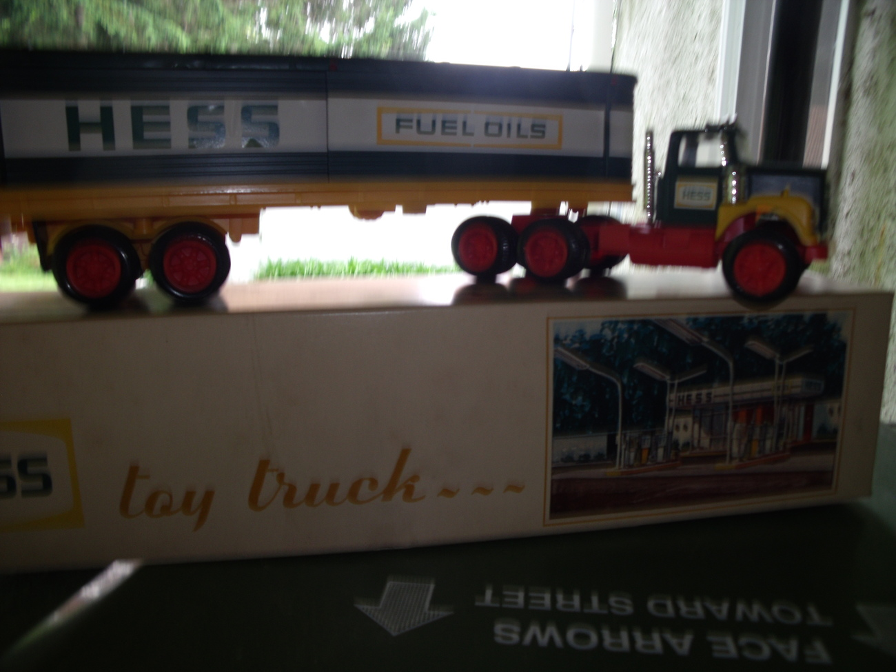 Hess Tractor Trailer NIB from the 1970's