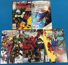 SPIDER-MAN lot of (5) issues, as shown (1990-2012) Marvel Comics FINE+ - $9.89