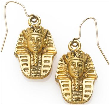 1492 king tut earrings