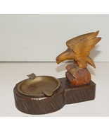 Vintage  American Eagle Carved Ashtray ca. 1940s - $59.99