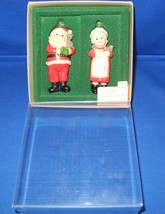 Mr. & Mrs. Clause Hallmark Christmas Ornament 1981 with Original Box and... - $25.00