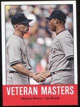 2012 Topps Heritage #43 Mariano Rivera, Joe Girardi - $3.00