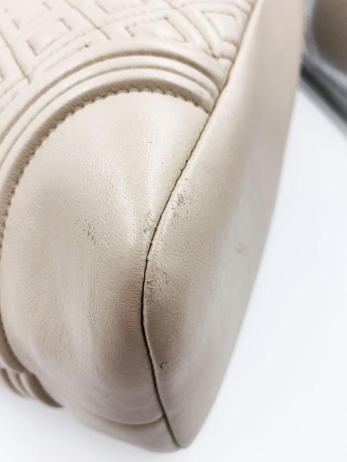 Tory Burch 31426 Fleming Tote Lambskin Leather Large Women's Bag