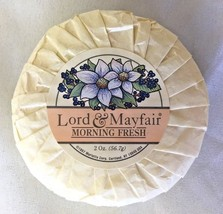 White 2 Oz LORD & MAYFAIR Molded Morning Fresh Bar Soap  - $3.90