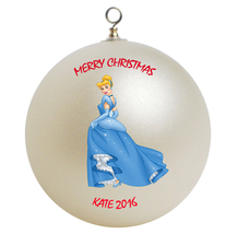 Personalized Princess Cinderella Christmas Ornament Gift - $16.95