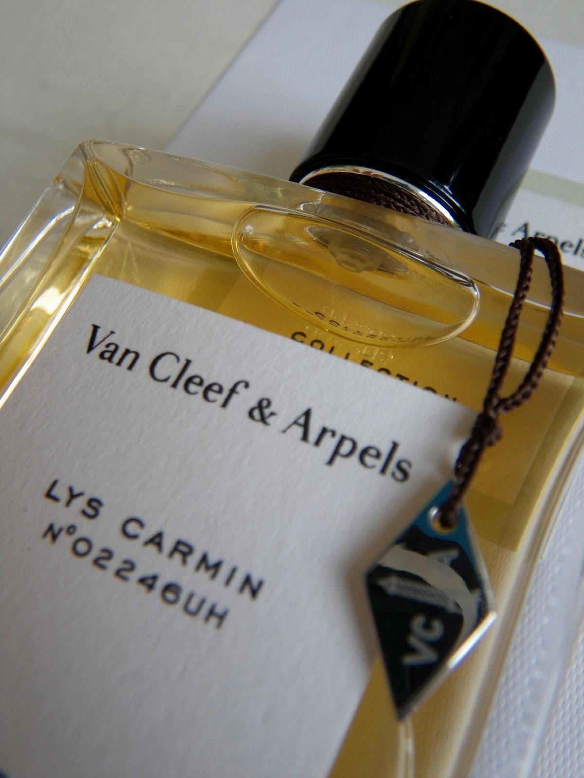 LYS CARMIN by Van Cleef Arpel 5ml Travel Spray Perfume Vanilla Ylang Pepper