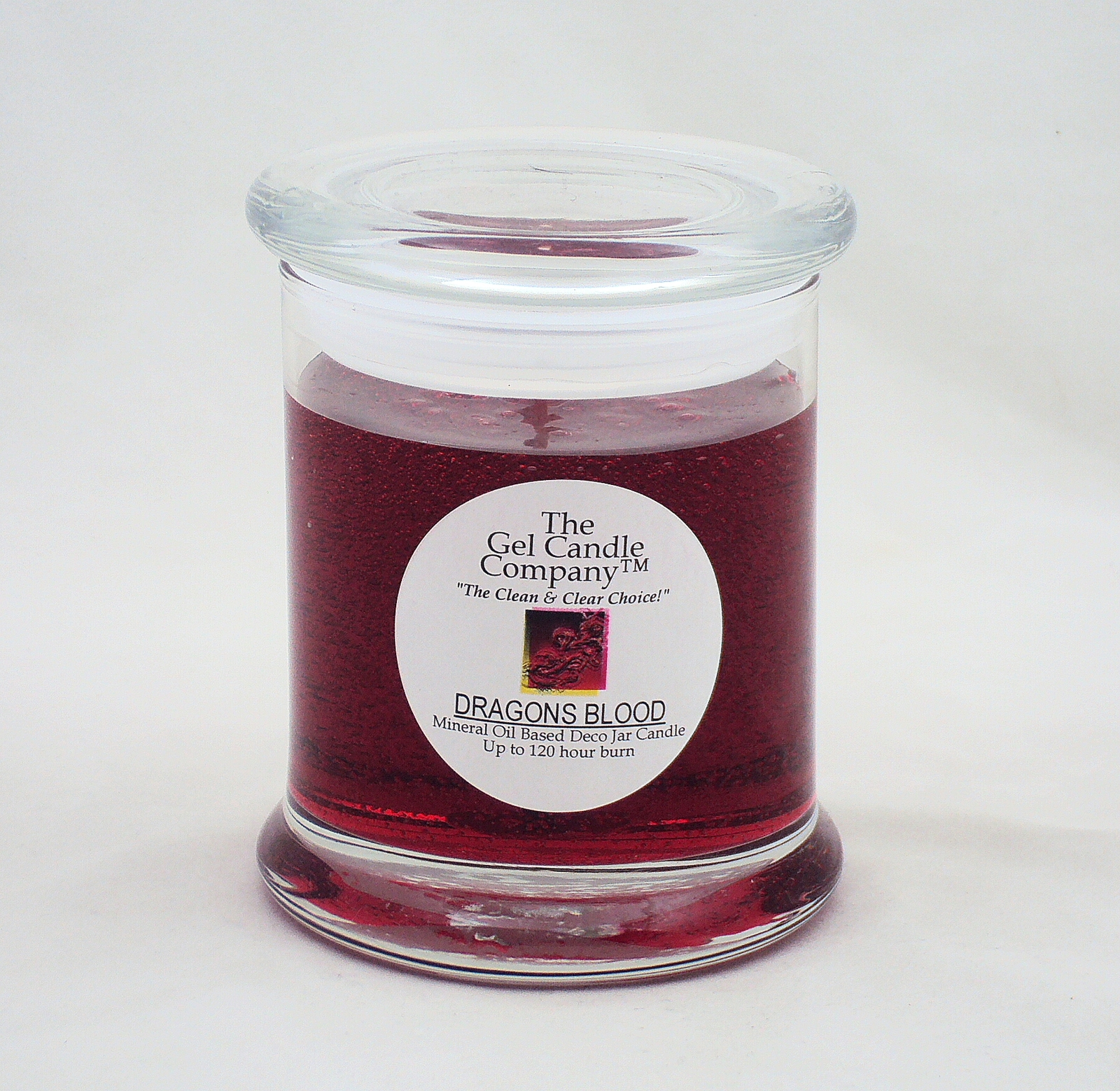 Primary image for Dragons Blood 90 Hour Gel Candle Classic Jar