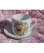 Beatrix Potter Peter Rabbit Child's Cup and Sau... - $9.99