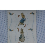 Five Sheets Peter Rabbit Hopping Beatrix Potter... - $8.99