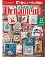 Just Cross Stitch 2016 Annual Christmas Ornament Issue cross stitch maga... - $10.00