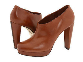$348 Cole Haan Nike Air Brown Leather Bootie Ankle High Heel Fashion Boots  - $199.99