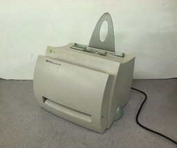 HP LaserJet 1100 Parallel Laser Printer 62K Pagecount - $100.00