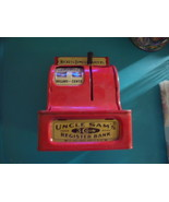 Uncle Sam's 3 Coin Cash Register Bank-Vintage - $120.00