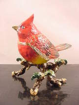 Two's Company Aves Jeweled Bird Trinket Pill Bo... - $49.99