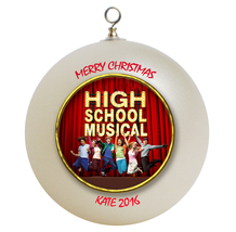 Personalized High Musical Christmas Ornament Gift - $16.95