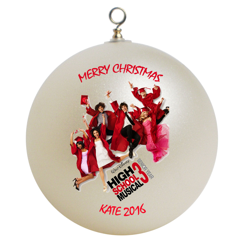 Personalized High Musical Christmas Ornament Gift 3