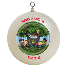 Personalized Little Einstien Christmas Ornament Gift - $16.95