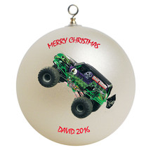 Personalized Grave Digger Christmas Ornament Gift - $24.95