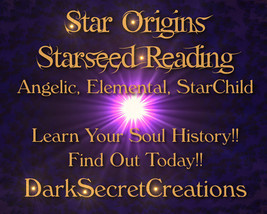 Star Origins Reading, Are You From The Stars? F... - $30.00