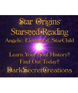 Star Origins Reading, Are You From The Stars? Find Out Now!! - $30.00