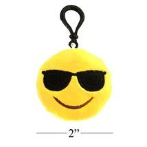 MelonBoat 16 Pack Emoji Mini Plush Pillows Keyc... - $19.60