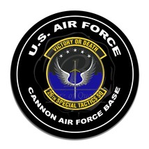 United States Air Force 26th Special Tactics Squad Circle Round Aluminum Sign - $16.09