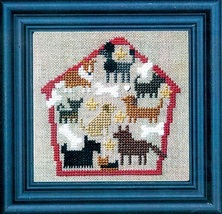 Dog House of Puppy Dogs cross stitch kit Bent Creek  - $19.80