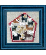 Dog House of Puppy Dogs cross stitch kit Bent C... - $19.80