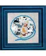 Yarn Ball of Kitty Cats cross stitch kit Bent C... - $19.80