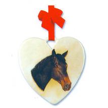 Hackney Horse Heart Ornament - £4.97 GBP