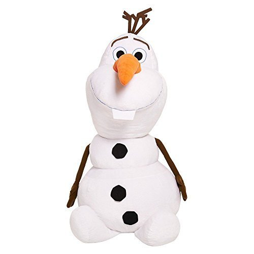 "Primary image for Disney Frozen Olaf Super Jumbo Plush 48"" 4' Tall Stuffed Snowman Display"