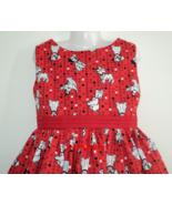 NEW VHTF Handmade Disney Dalmatians Red Dress Custom Sz 12M-14Yrs - $59.98