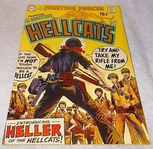 DC Silver Comic Lt Hunters Hellcats No 121 Joe Kubert 1969 VF - $9.95