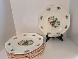 """Set Of (8) Avon Sweet Country Harvest 10 1/4"""" Dinner Plates - $47.49"""