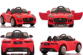New Licensed Sport Edition Jaguar F Kids Ride on Car,Powered Wheels Batt... - $369.75